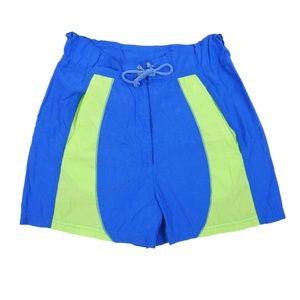 Reebok Retro Colorblock Board Shorts Swim Water S